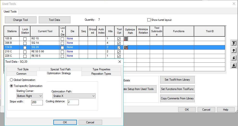 Punch Advanced Technologies: Tool Path Optimization