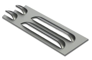 cncKad Special Tools Louver