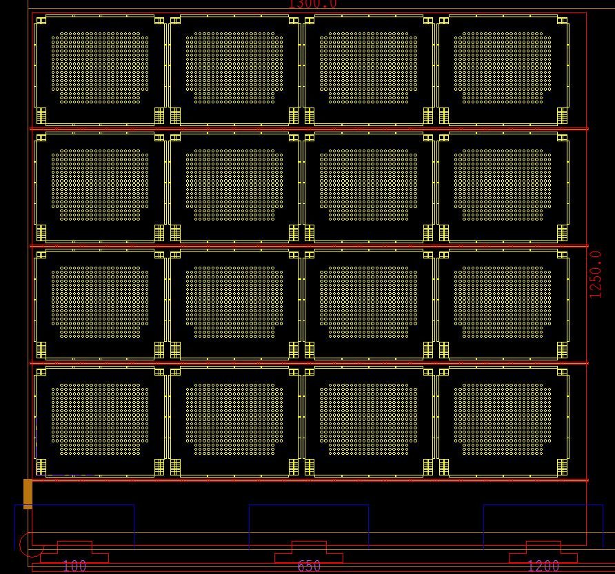 cncKad punching advanced technologies stripes