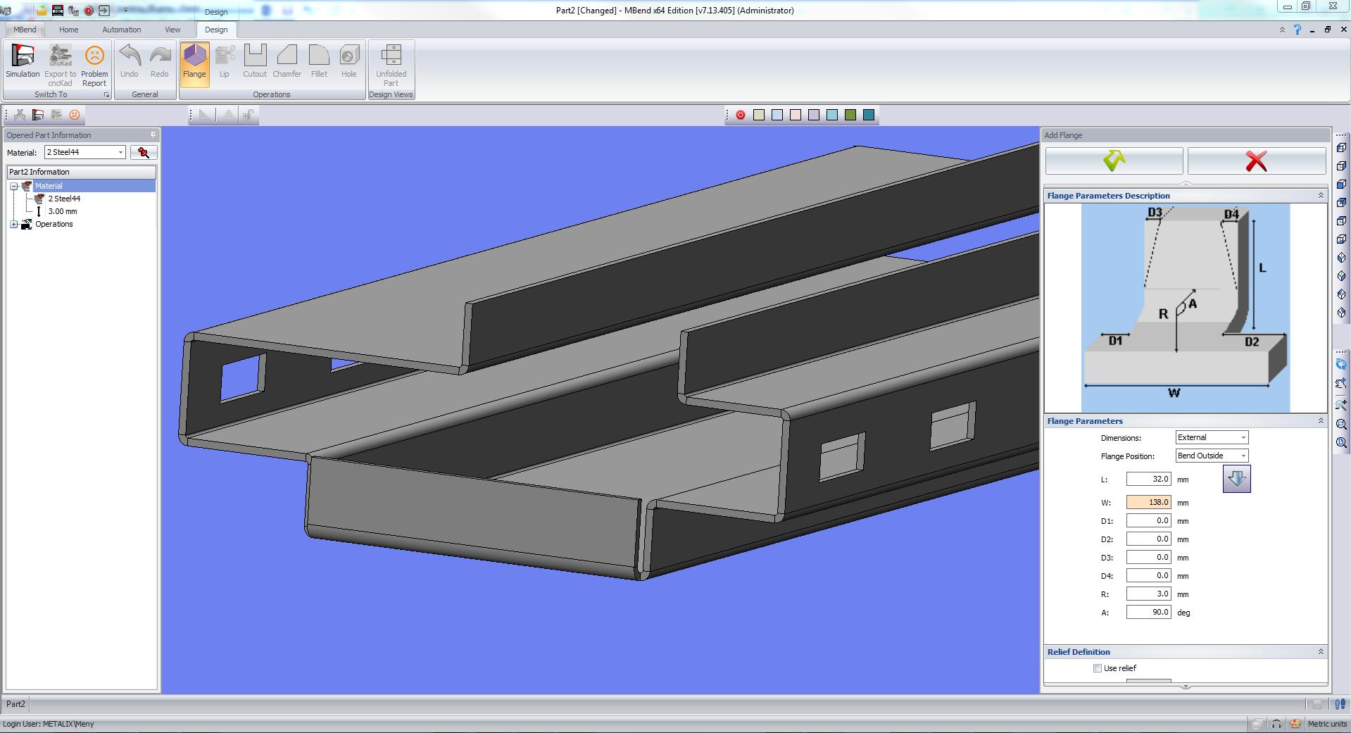 MBend 3D CAD Designer