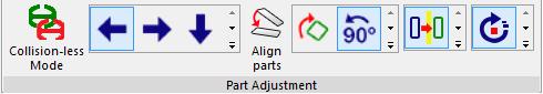 Zagnieżdżanie ręczne: dostosowanie części