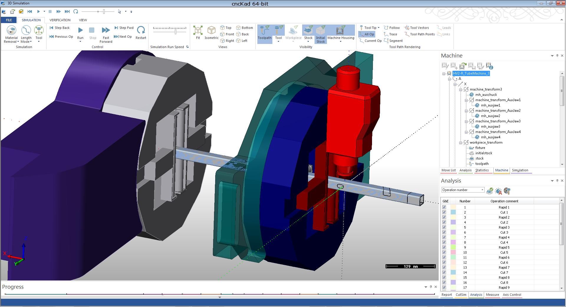 cncKad 3D Simulation